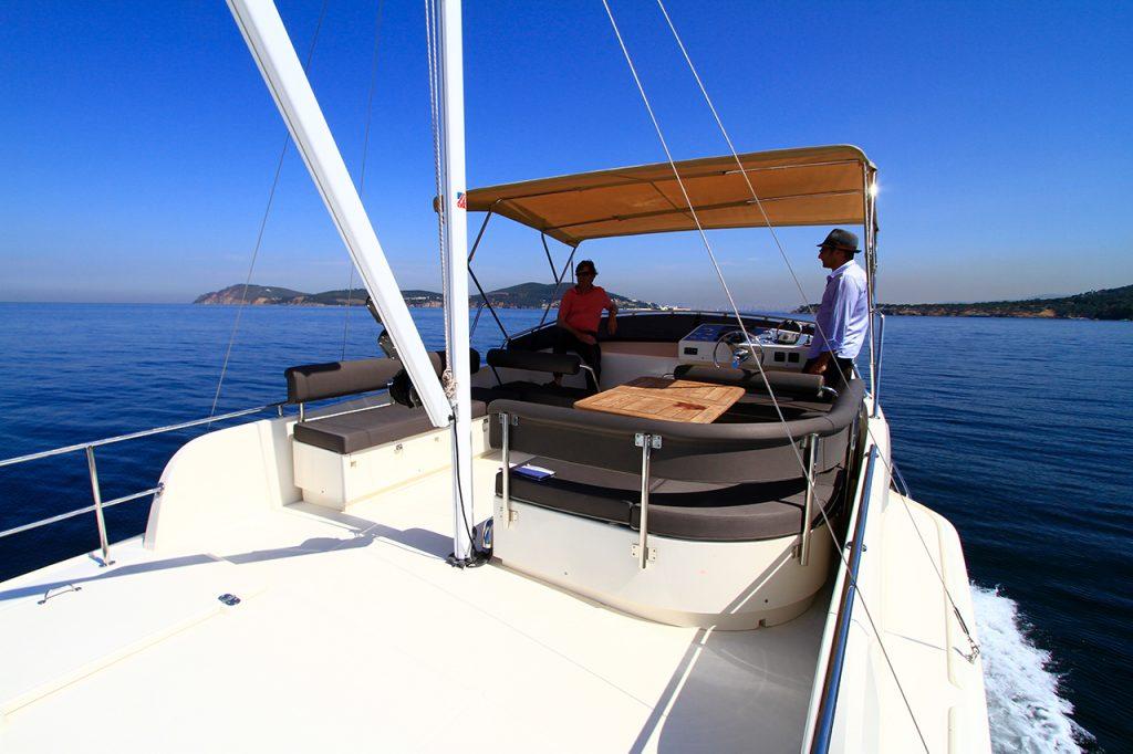Rhea Marine Trawler 36 Top Deck
